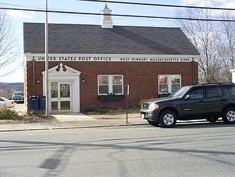 West Newbury, Massachusetts - U.S. Post Office in West Newbury, 2005
