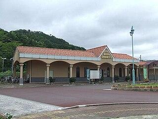 Wakasa-Wada Station Railway station in Takahama, Fukui Prefecture, Japan