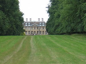 Walcot Hall - Walcot Hall from the Hereward Way