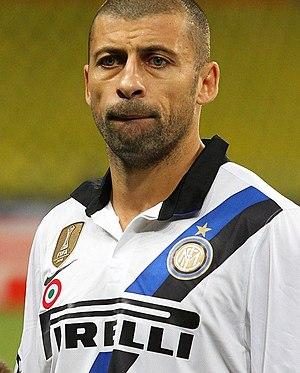 Walter Samuel - Samuel with Internazionale in October 2011