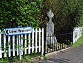 War memorial, Low Worsall - geograph.org.uk - 401633.jpg