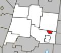 Warden Quebec location diagram.PNG
