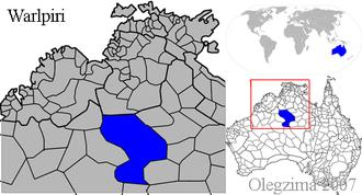 Warlpiri people - Warlpiri Country