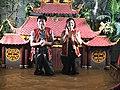 Water puppeteers Phan Tranh Liem and his wife, Hanoi, 2017.jpg