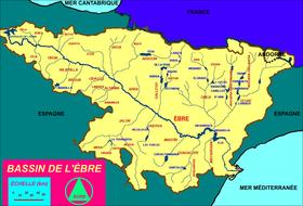 Carte Espagne Delta De Lebre.Ebre Wikipedia