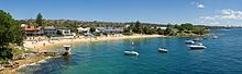 Watsons Bay - Camp Cove Beach, Sydney 2 - Nov 2008.jpg