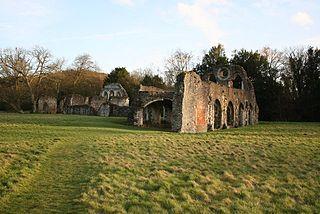 Waverley Abbey Cistercian abbey in Surrey, UK