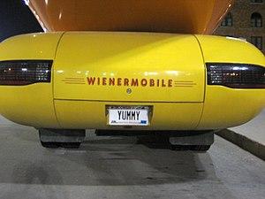 Wienermobile - The Oscar Mayer Wienermobile in Omaha, Nebraska, in August 2006