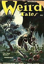 Weird Tales cover image for November 1950