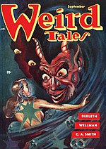 Weird Tales cover image for September 1953