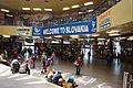 Welcome to Slovakia sign inside Bratislava main train station (hlavná stanica).JPG