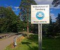 Welcome to Toensberg Norway sign 2015-07-22.jpg
