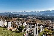 Wernberg Sternberg Friedhof Blick auf Rosental und Karawanken 17032017 6697.jpg