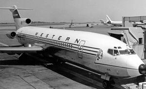 Western Airlines - Western Airlines Boeing 727.