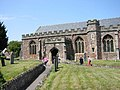 Western entrance to St Georges Priory Church, Dunster - geograph.org.uk - 124656.jpg