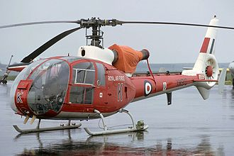 Aérospatiale Gazelle - Westland SA-341D Gazelle, 1975