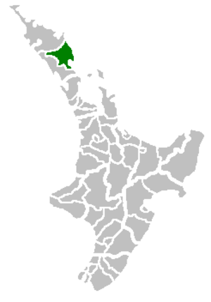 Whangarei District - Image: Whangarei Territorial Authority