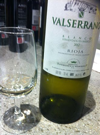 Rioja (wine) - A white Rioja made mostly from Viura