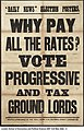 Why Pay All the Rates? Vote Progressive and Tax Ground Lords (22911069971).jpg
