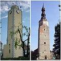 Wieża ratuszowa i zamkowa - Bierutów.jpg