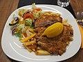 Wiener Schnitzel at restaurant La Sirena.jpg