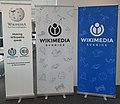Wikimedia Sverige roll ups 01.jpg