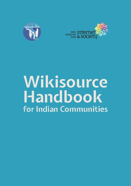চিত্ৰ:Wikisource Handbook for Indian Communities.pdf