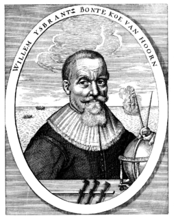 Willem Bontekoe Dutch explorer