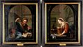 William Laquy, Paintings of a man and a woman in pharmacy Wellcome L0025951.jpg