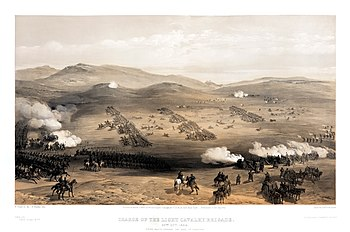 The Charge of the Light Brigade at Balaklava