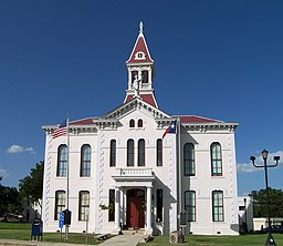 Wilson County Courthouse in Floresville.