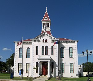 Wilson County, Texas - Image: Wilson courthouse
