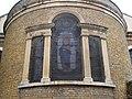 Window on the Eastern End of Saint George's Church, Gravesend.jpg