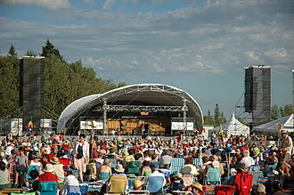 Birds Hill Provincial Park - Winnipeg Folk Festival, Main Stage, 2006.