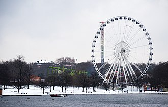 Hyde Park, London - The Winter Wonderland festival has been a popular Christmas event in Hyde Park since 2007.