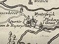 Winterswijk uitsnede Kaart van graafschap Zutphen, 1627, Pieter van der Keere, 1627 .jpg