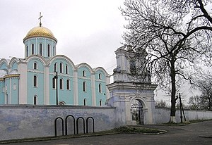 Mstislav II of Kiev - Assumption Cathedral in Volodymyr-Volynskyi was built by Mstislav in 1160.