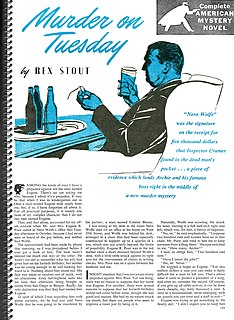 Instead of Evidence short story by Rex Stout