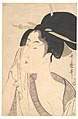 Woman Relaxing after Her Bath, Utamaro, MET JP144.jpg