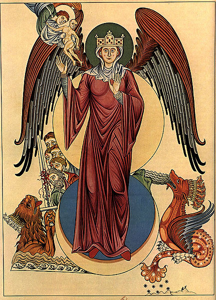Woman of the Apocalypse (Hortus deliciarum)