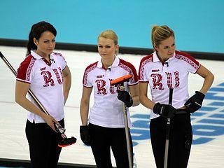 Margarita Fomina Russian curler