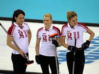 Russia at the 2014 Winter Olympics - Russian women's team