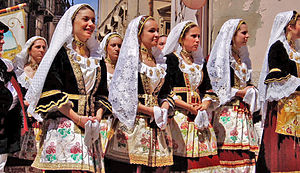 Selargius - Traditional dresses