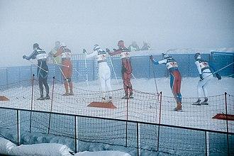 FIS Nordic World Ski Championships 2011 – Women's 4 × 5 kilometre relay - Image: Womens relay at Oslo 2011