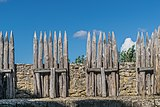 Wooden fortification of the Castle of Beynac 01.jpg