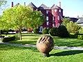 Wooden sculpture at Butler House - geograph.org.uk - 1553715.jpg