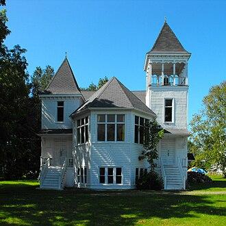 Woodville, Nova Scotia - The former United Church in Woodville, Nova Scotia