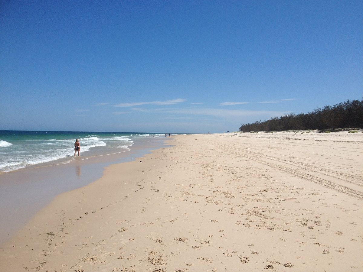 Bribie Island Ocean Beach Site Willyweather Com Au