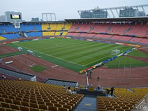Venues of the 2008 Summer Olympics - The Workers Stadium, hosted the quarter-final and semi-final football matches