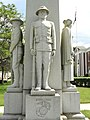 World War I Monument figure - Gardner, MA - DSC00901.JPG
